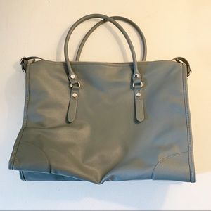 H&M Dark Teal convertible handbag